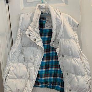 Puffer vest Aeropostale's xl white